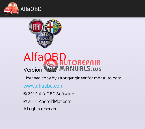 alfaobd download crack android