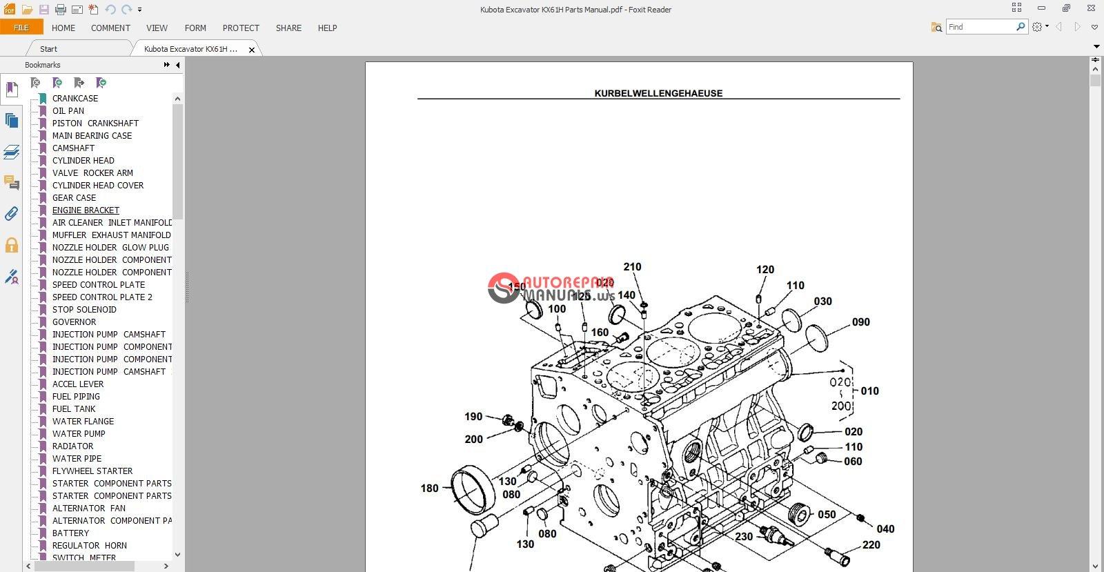 Kubota Excavator KX61H Parts Manual.jpg
