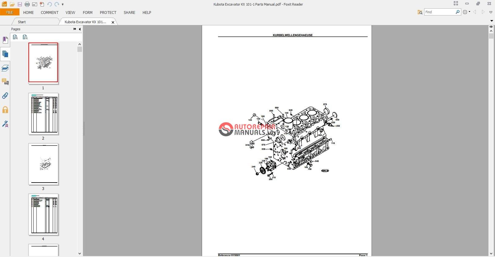 Kubota Excavator KX 101-1 Parts Manual.jpg