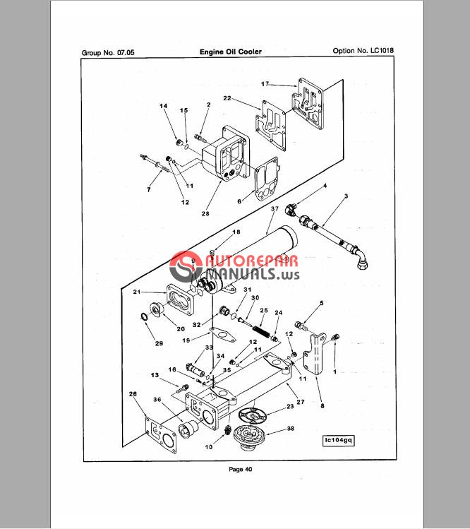 cummins n14 step timing control industrial parts catalog