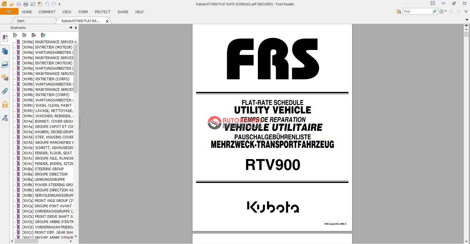 kubota rtv owner manual pdf www