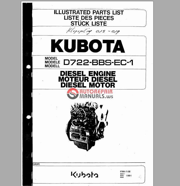 kubota diesel engine d722-bbs-ec-1 parts list jpg