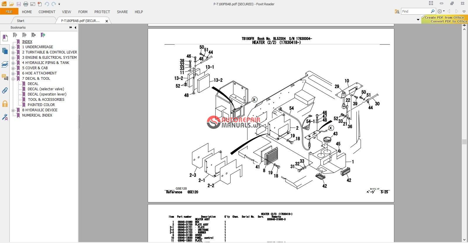 takeuchi tb15 parts manual. Black Bedroom Furniture Sets. Home Design Ideas