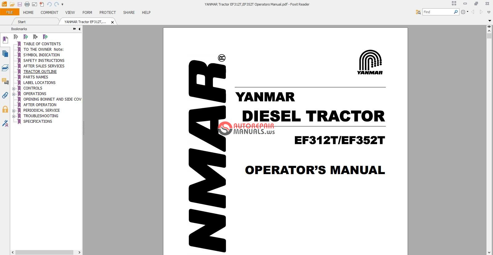 Iseki Tractor Wiring Diagram Simple Guide About Yanmar Remote Starter Relay Manuals Pdf Library