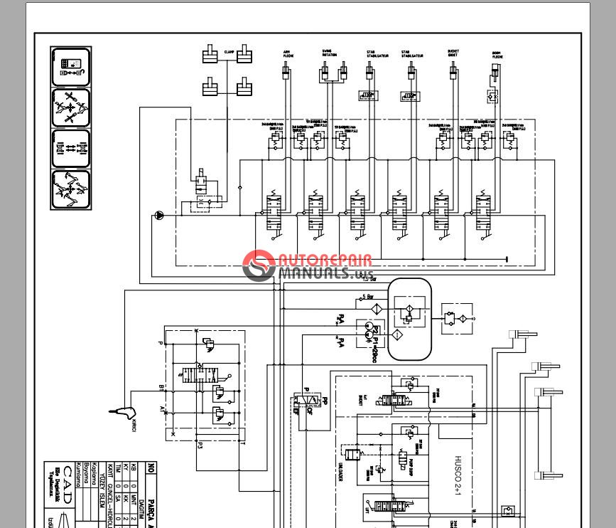 hidromek hmk 102 tm disassembly training motes diagrams