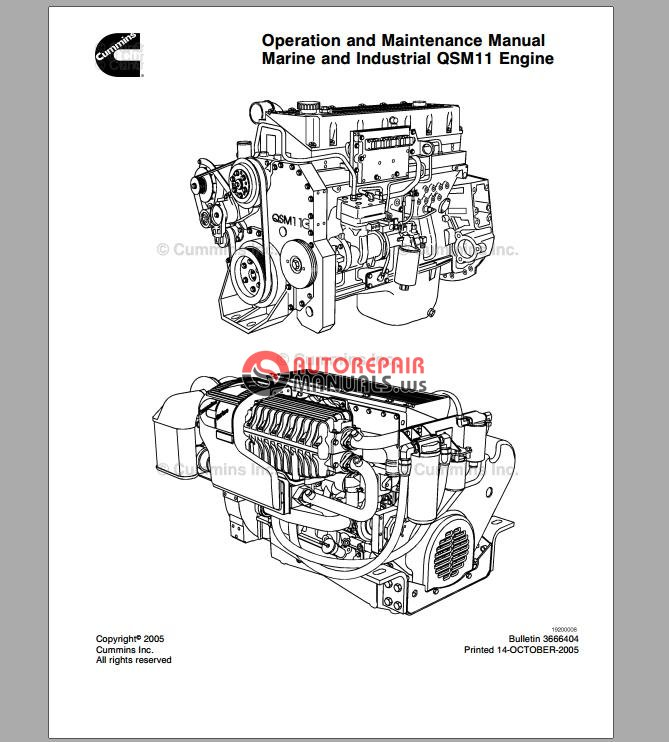 Cummins Service Manual Qsm11  English