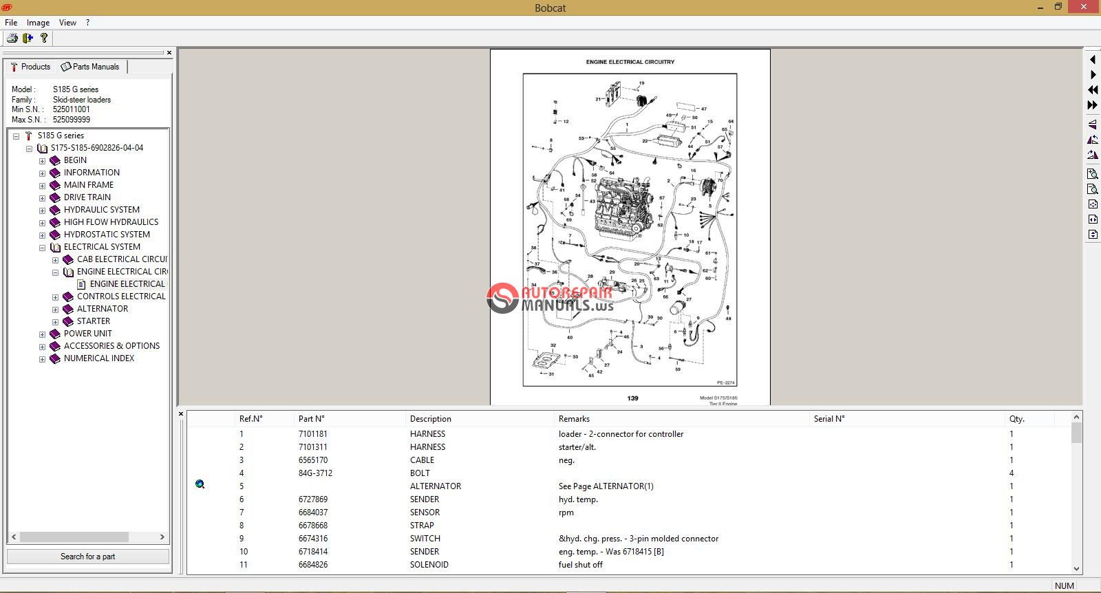 bobcat 08 2004 parts manuals
