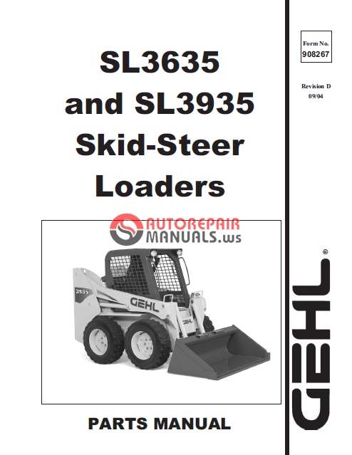 Gehl 4615 service Manual pdf