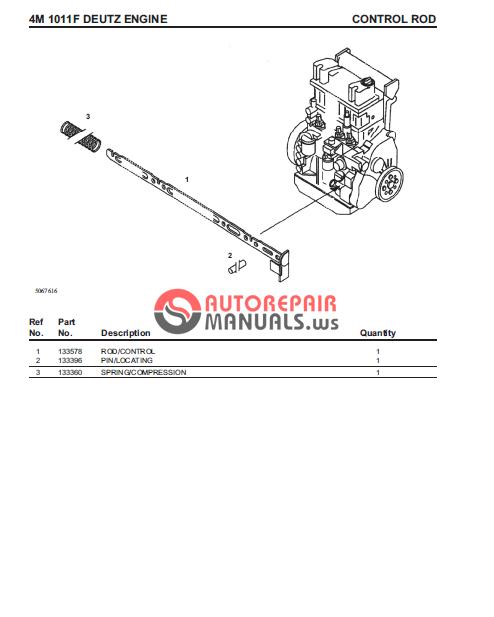 deutz f4m1011f spare parts auto repair manual forum heavy rh autorepairmanuals ws Deutz -Fahr Manual Deutz Engine Parts Manual