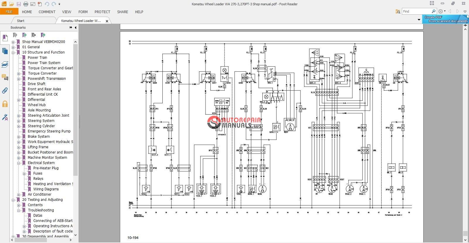 ... Komatsu Wheel Loader WA 270-3,270PT-3 Shop manual_3.jpg ...