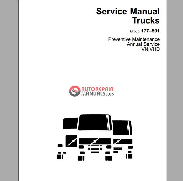 volvo service manual trucks basics