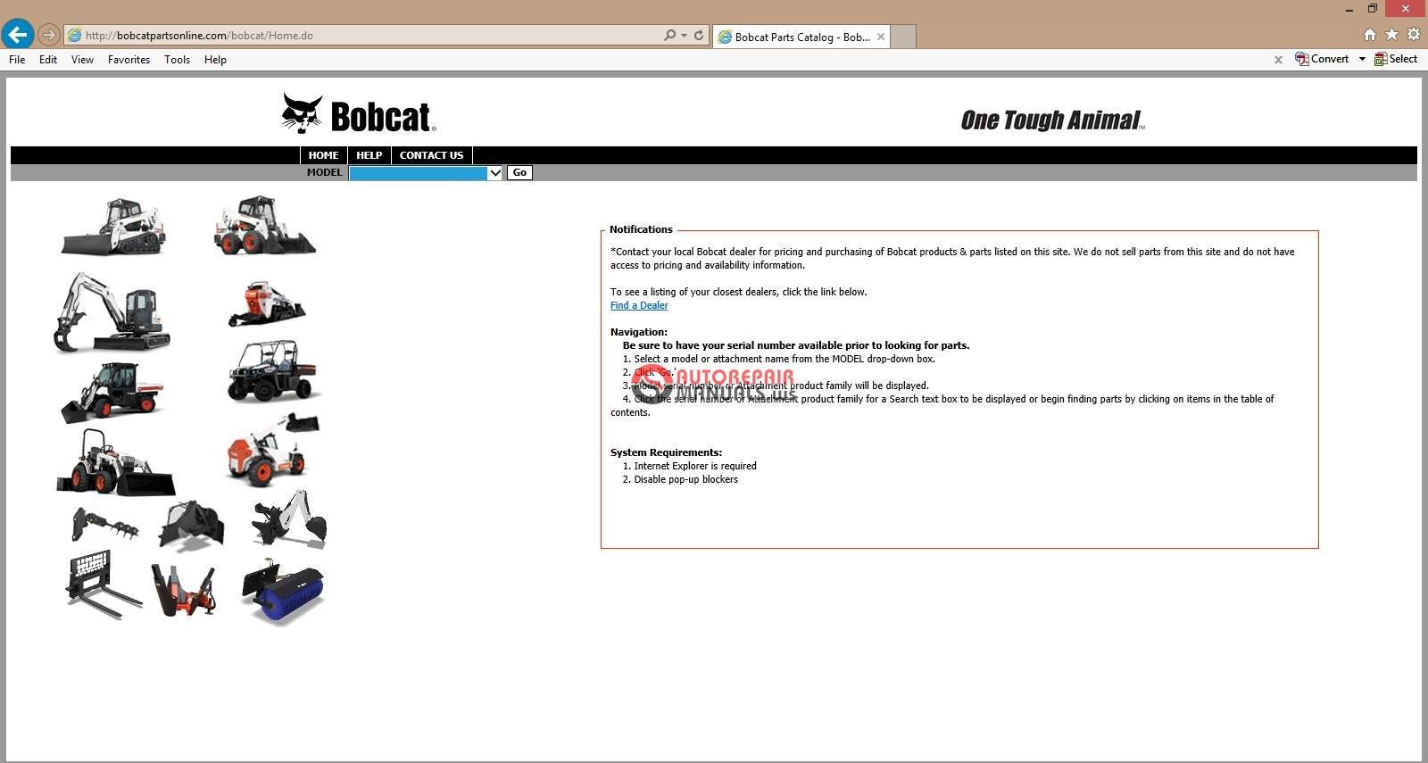 Bobcat Parts Online >> Bobcat Parts Catalog Online Auto Repair Manual Forum