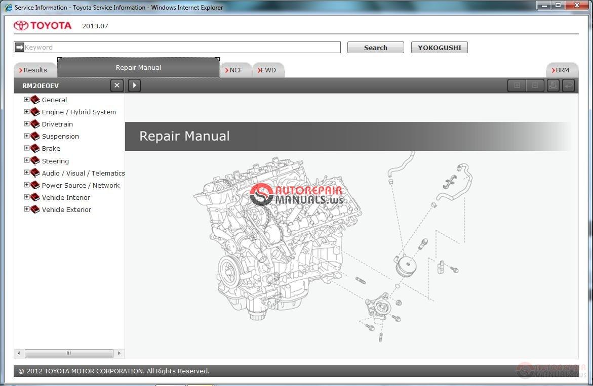 2012 toyota camry repair manual pdf