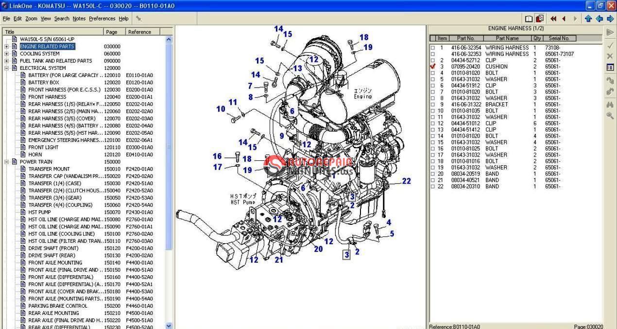 komatsu d20a dsl crawler 60001 up operators manual