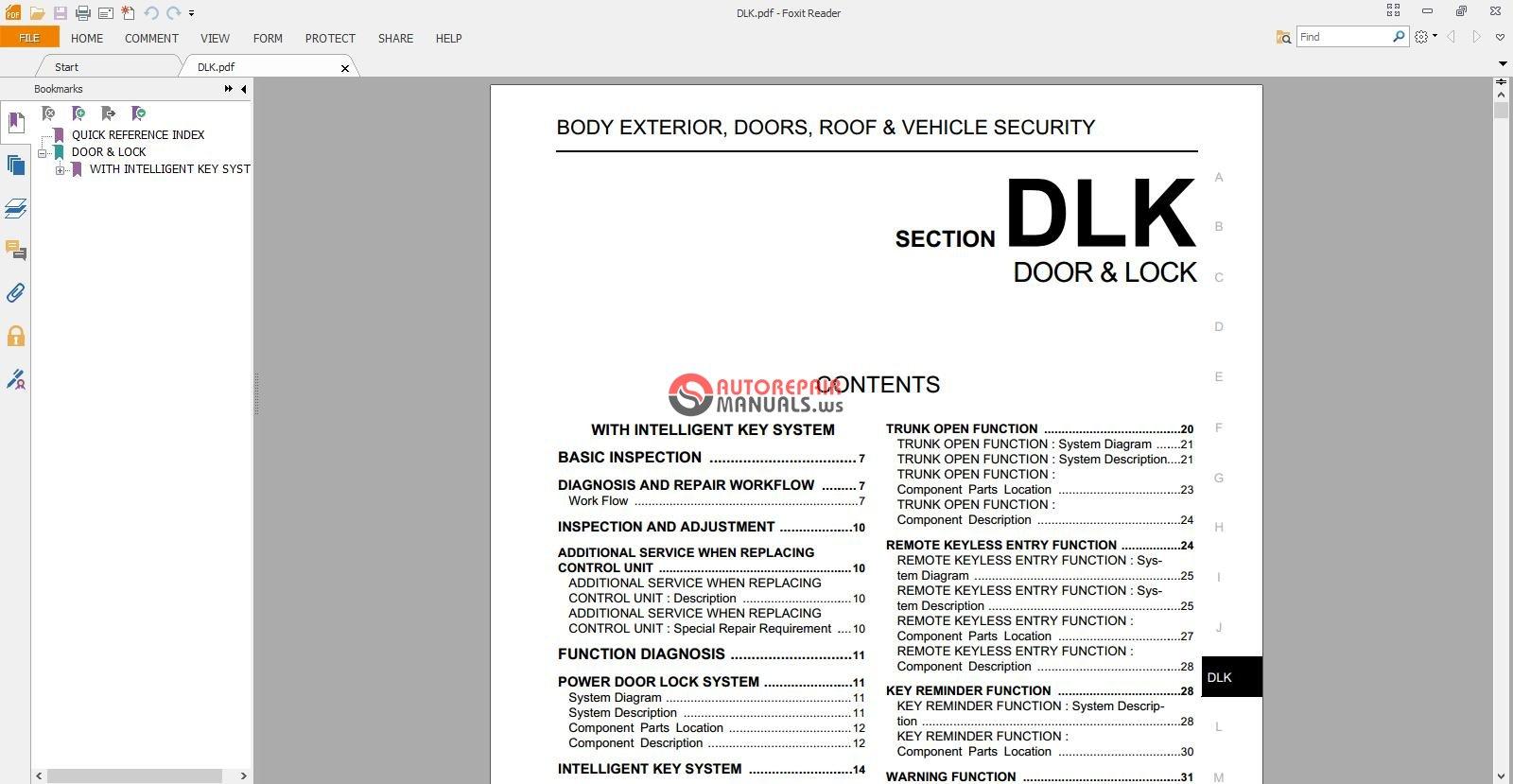 nissan teana j32 2008 repair manual