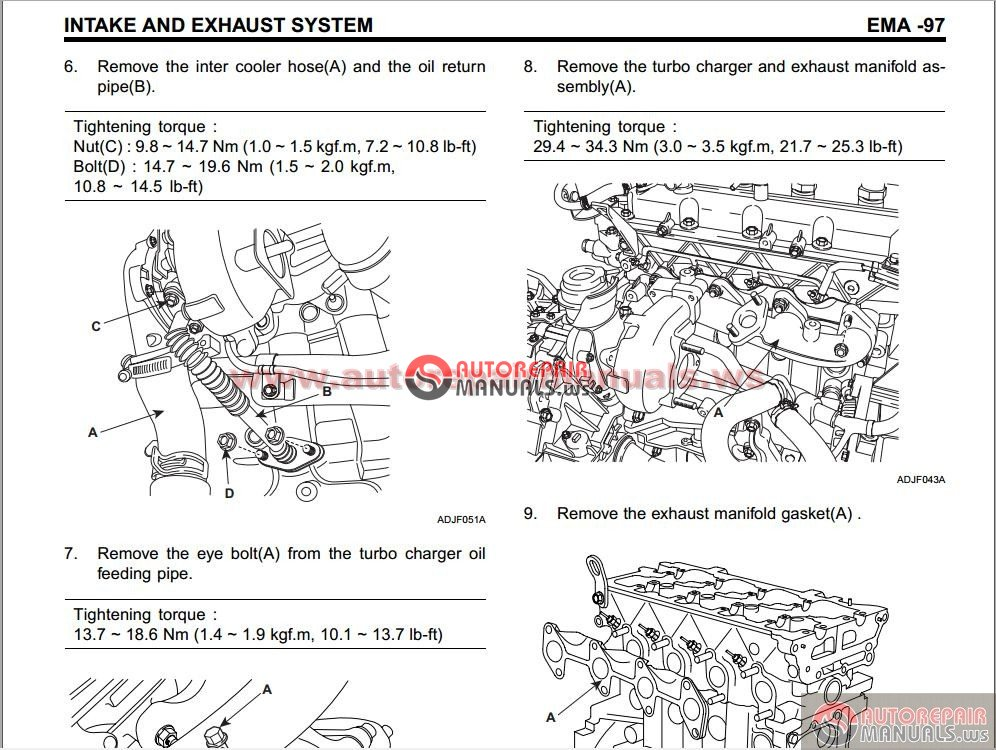 Hyundai Crdi Engine D4fa Technical Training Auto Repair
