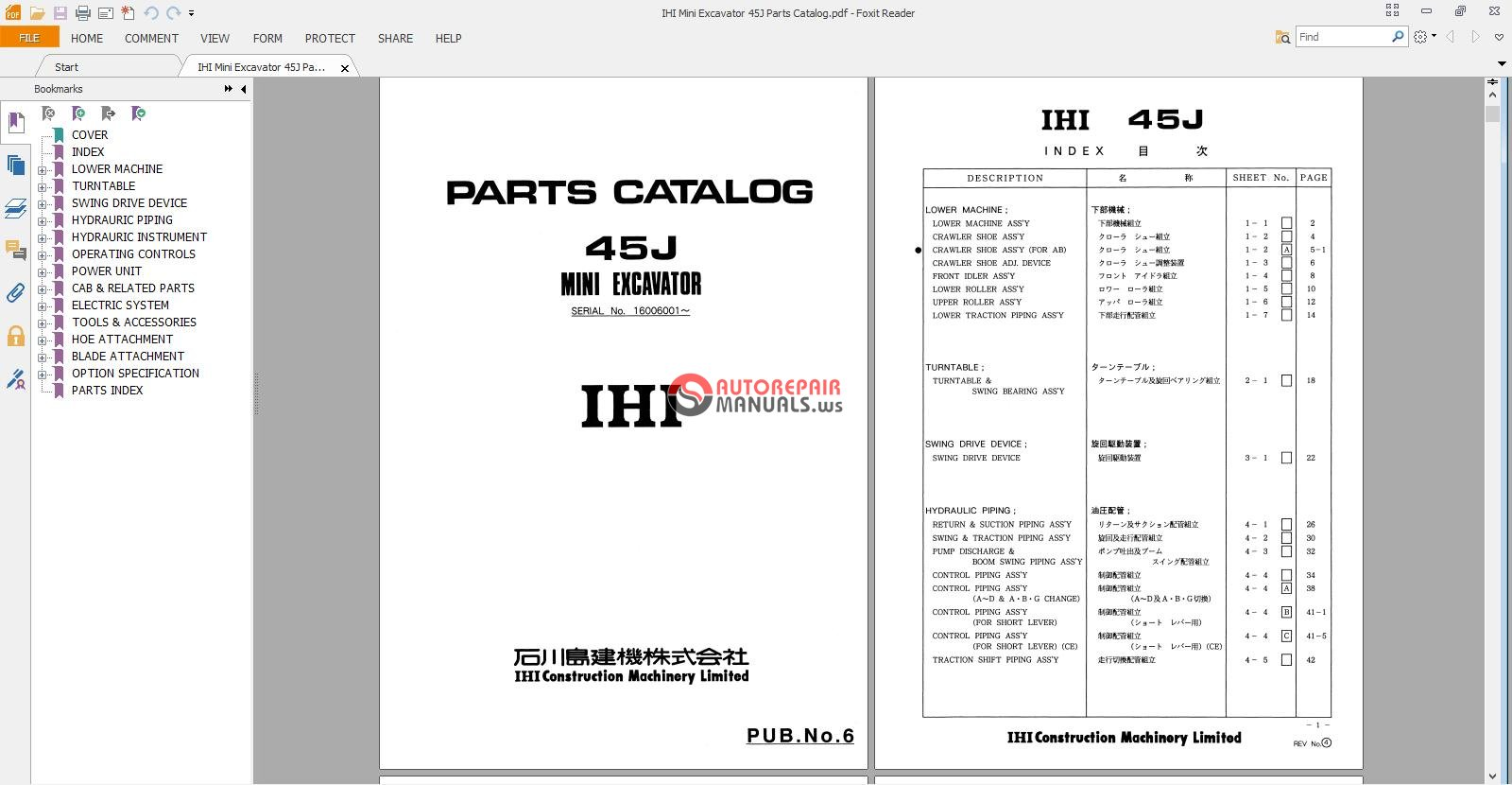 [DVZP_7254]   9D0CC5 Ihi 40nx 45nx Mini Excavator Parts Manual | Wiring Library | Ihi Wiring Schematic |  | Wiring Library