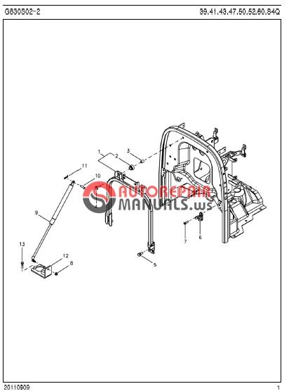 ls tractor r4041    r4047 parts manual