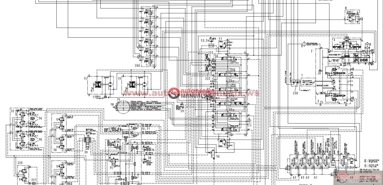international tractor wiring diagram o amp k rh23 5 crawler excavator hydraulics schematics and