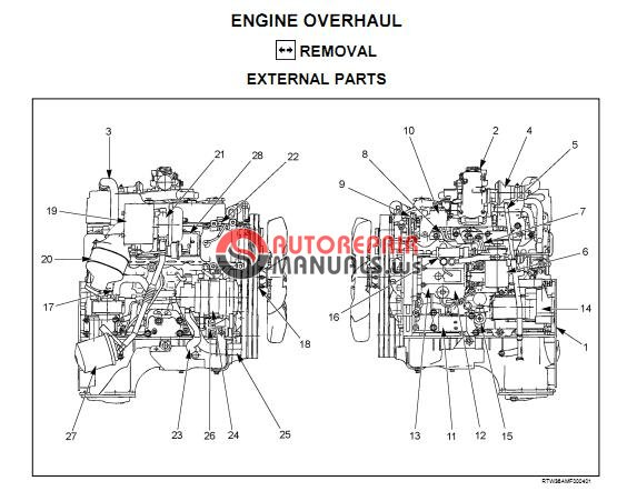 isuzu tf series engine 4ja1 4jh1-tc workshop manual