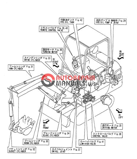 yanmar crawler backhoe b15 ammann parts manual