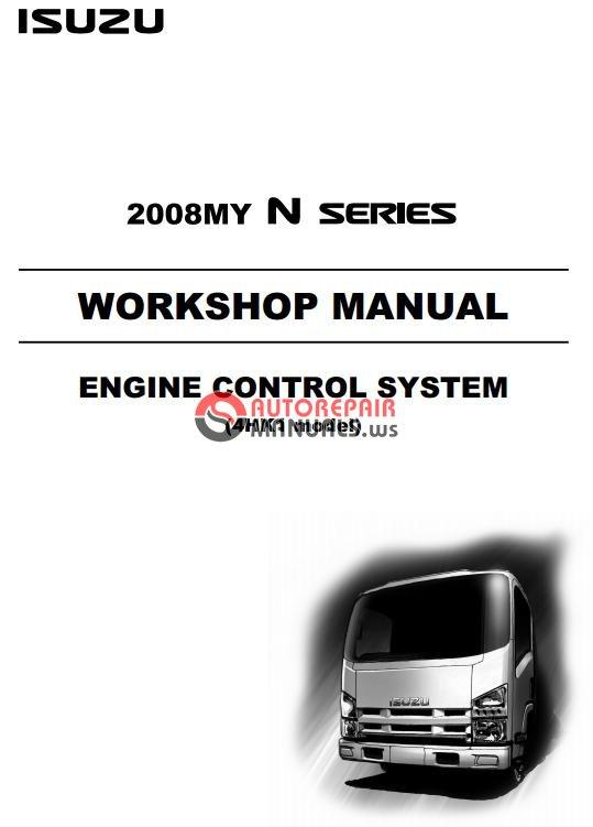isuzu 2008my n series engine control system 4hk1 model. Black Bedroom Furniture Sets. Home Design Ideas