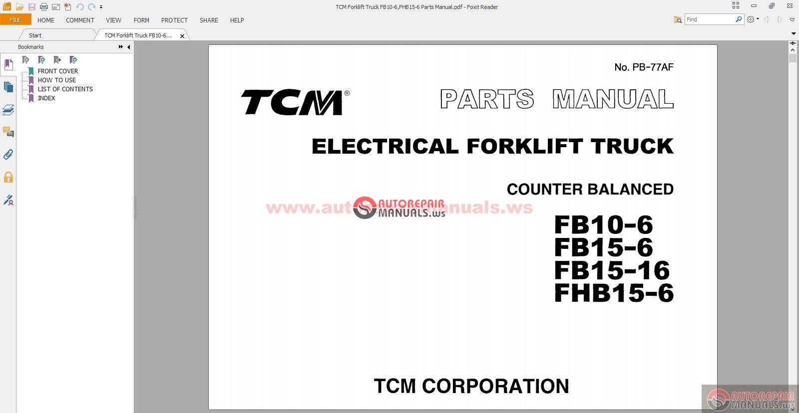 all tcm forklift truck parts manual auto repair manual forum rh autorepairmanuals ws Linde Forklift Parts Diagram tcm forklift alternator wiring diagram