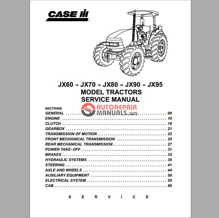 Case Tractor Wiring Diagram