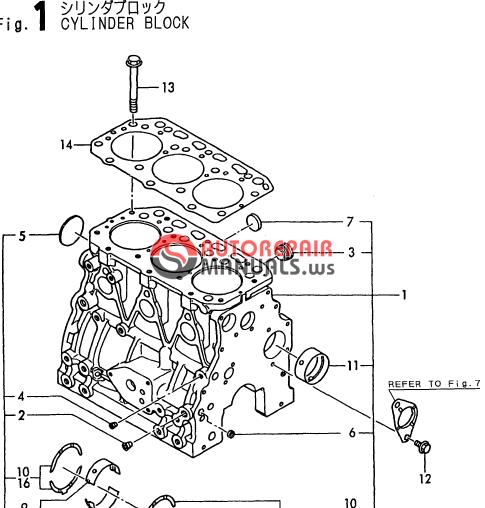 Yanmar Engine 3TN84L RBA(B3-1,-2) Parts Catalog | Auto Repair Manual