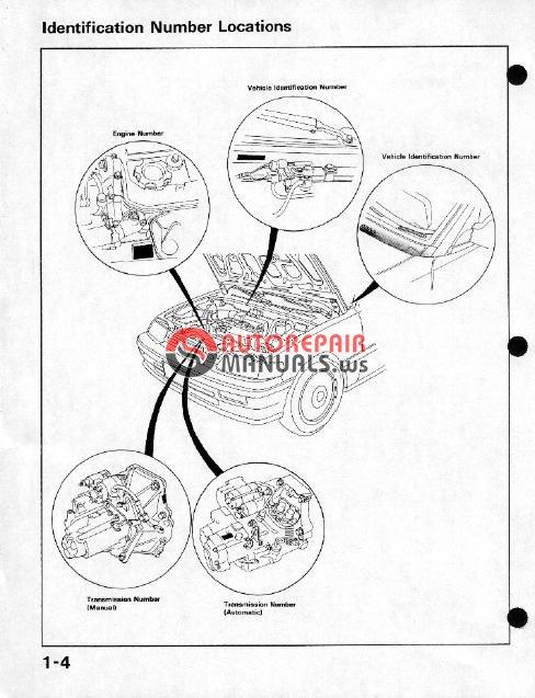 honda cr-x 1984-1991  civic  approved
