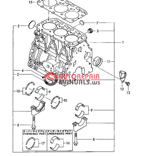 yanmar engine 3tn84l