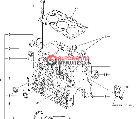 Yanmar Engine 3tne68