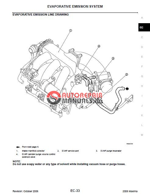 nissan maxima 2006-2009 approved