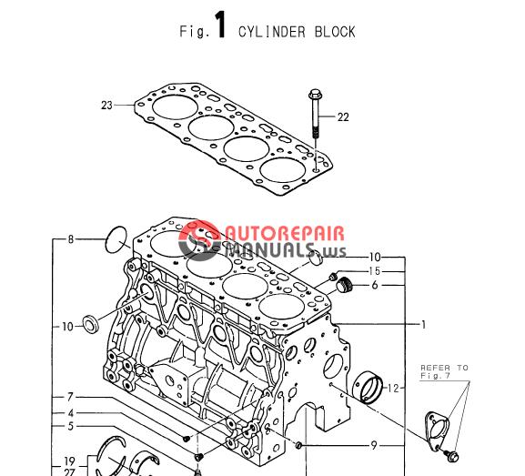Yanmar Engine 4TNE88- (E)B1Parts Catalog | Auto Repair Manual Forum