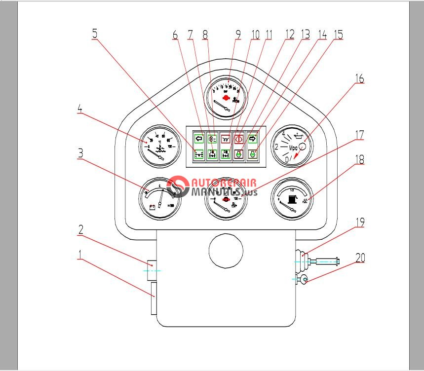 XCMG Road Grader Parts Handbook GR215A | Auto Repair Manual Forum