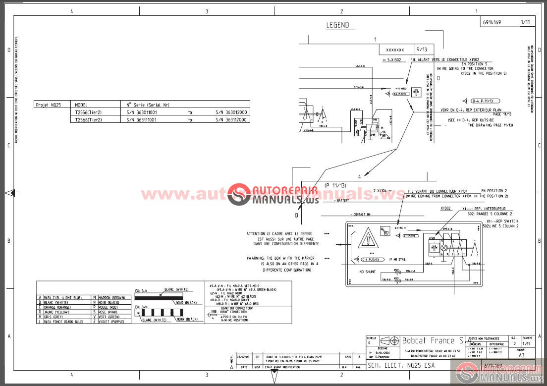 Bobcat Skid Steer Wiring Diagrams | Wiring Liry