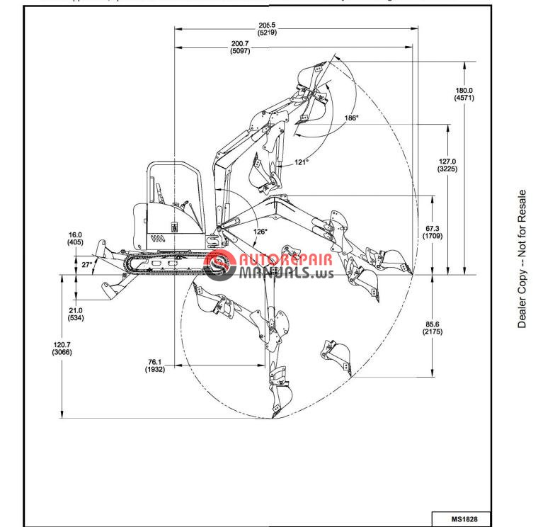 Bobcat 430 Service Manual S  N 563011001 And Up