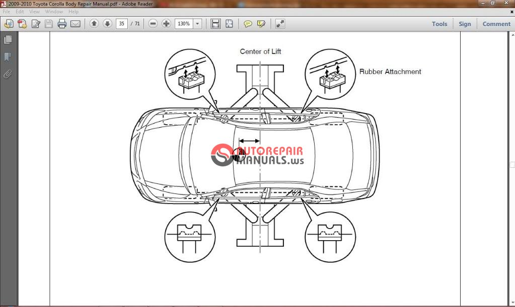 toyota corolla 2009 2010 workshop manual auto repair manual forum rh autorepairmanuals ws 2010 toyota corolla repair manual free download 2010 toyota corolla service manual pdf