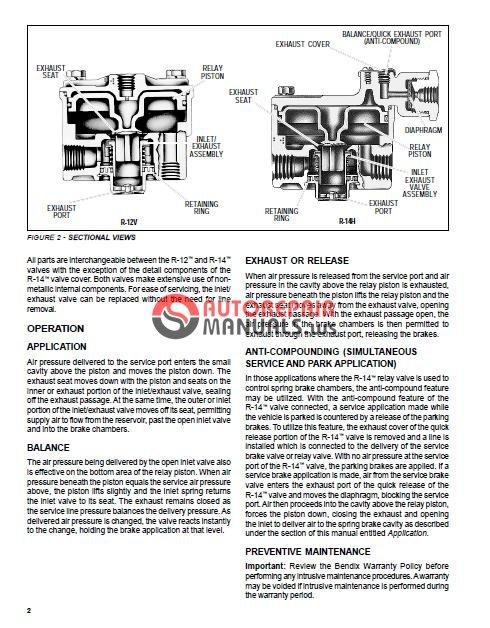 Blue Bird 2010 Manuals Vision Propane Bendix R