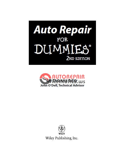 Diesel Engine And Fuel System Repair 5th Edition Download: Automotive Books Auto Repair For Dummies 2 Edition