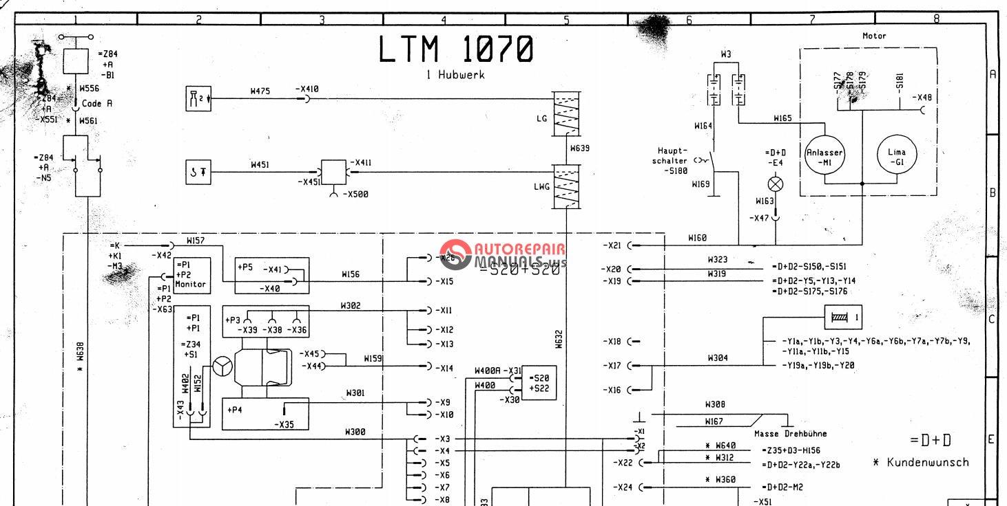 Liebherr Wiring Diagram Another Blog About Vdo Gas Gauge 240 33 Ohm Mobile Crane Ltm 1030 2 1