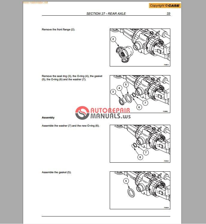 case 580sr 580sr  590sr 695sr series 3 service manual