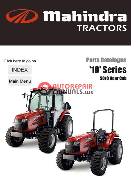 Mahindra Tractor Parts Manual : Mahindra tractor series gear cab parts manual
