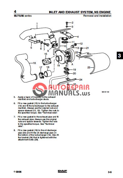 daf trucks service manuals