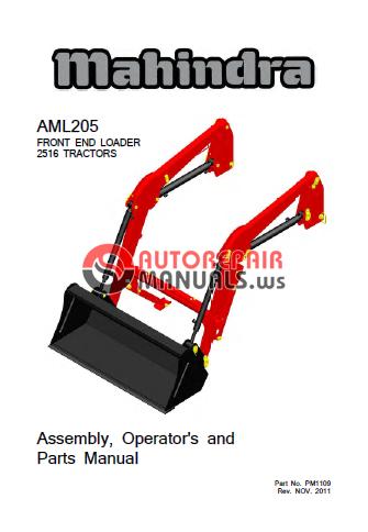mahindra tractor service manual pdf