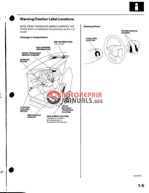 Honda    Civic Si Hatchback 20022003 Approved   Auto Repair
