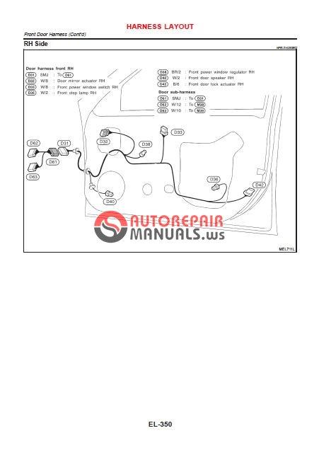 nissan maxima 2000 2005 service manual auto repair. Black Bedroom Furniture Sets. Home Design Ideas