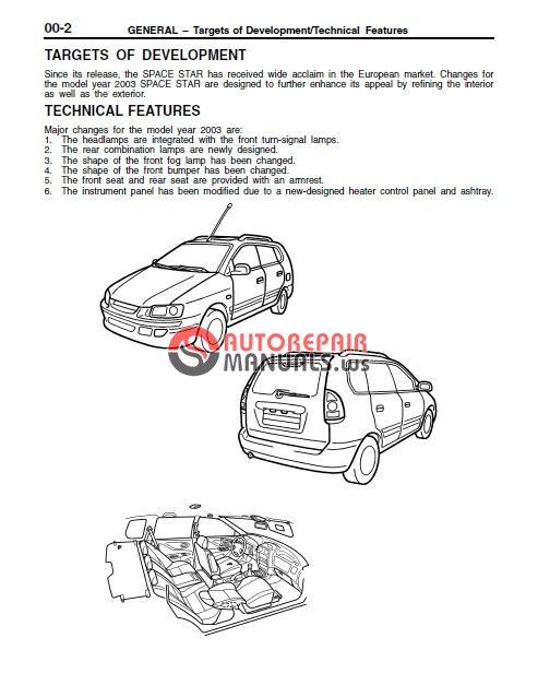 wiring diagram mitsubishi space star repair wiring scheme Operators Manual Ford Owner's Manual