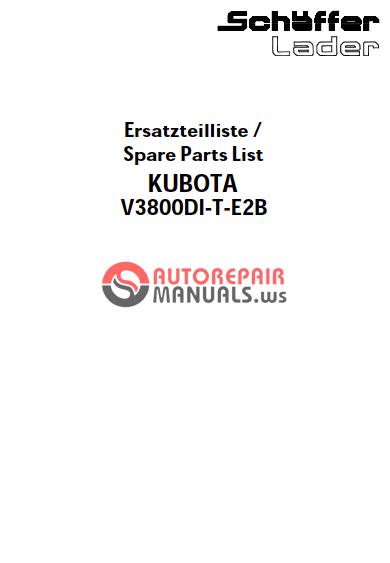 Kubota la853 manual