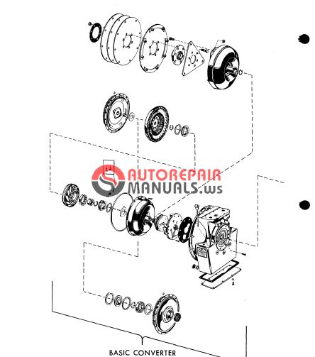 allison torqmatic series 200-300  sa1039j  parts manual